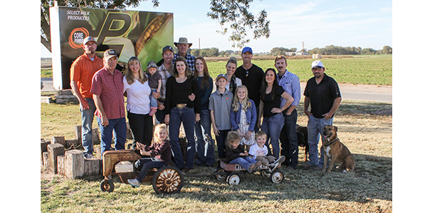 The Pirtle family has been farming in Roswell for over four generations.