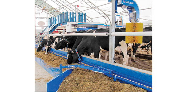 DeLaval's new FPM300 at work on a dairy
