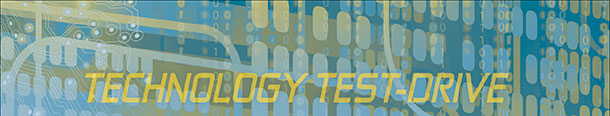 technology test drive banner