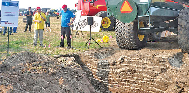 Preventing soil compaction pays off for years for Soil 95 compaction