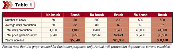 Making the case for cow brushes - Progressive Dairy