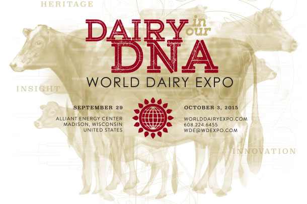 world dairy expo banner