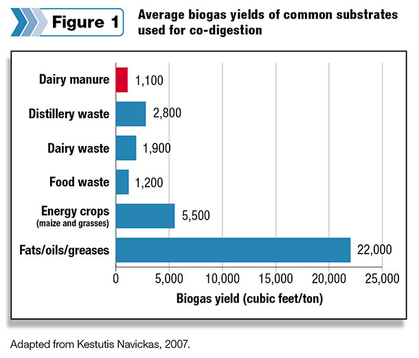 substrate biogas yields