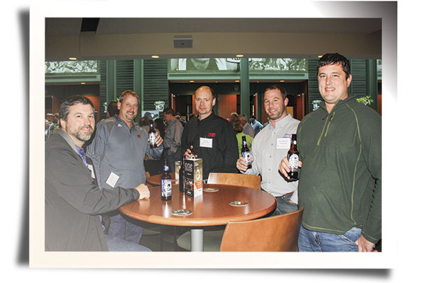 Attendees enjoyed sipping Alltech's own beverages