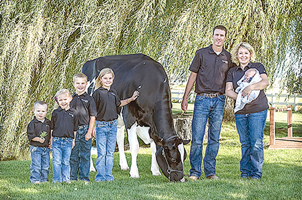 Greg Andersen with his family