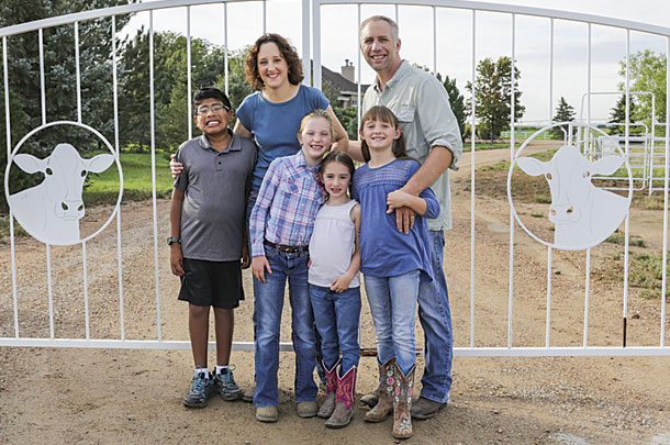 Chuck and Nora Feldpausch family