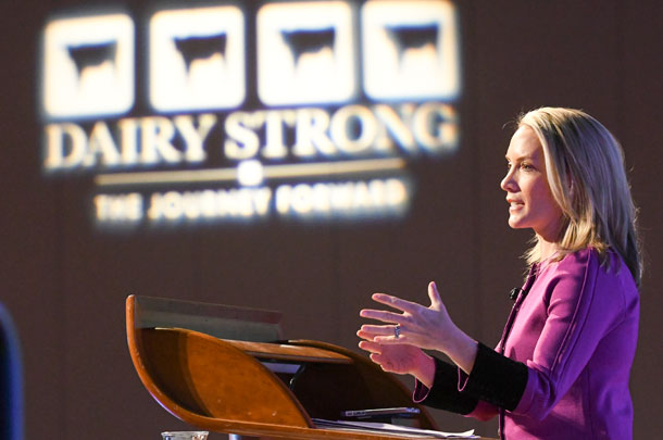 Dana Perino at Dairy Strong conference 2017
