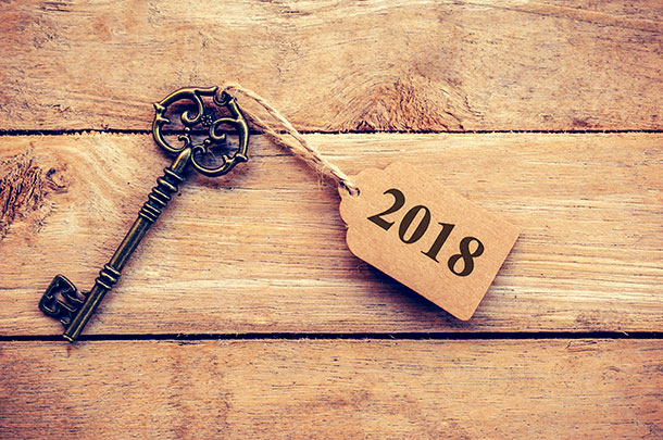 key to year 2018