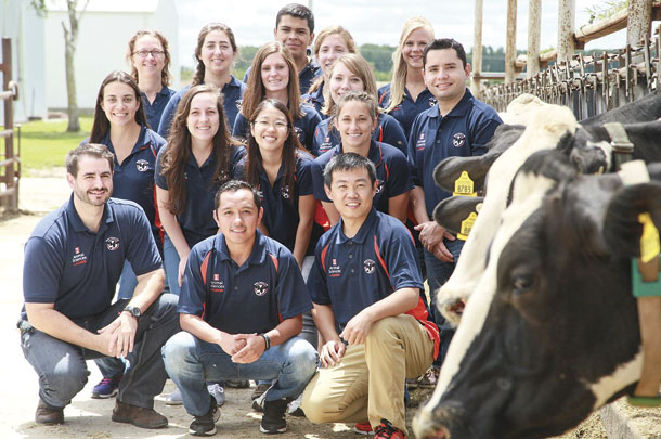 Dr. Phil Cardoso's Dairy Focus Team