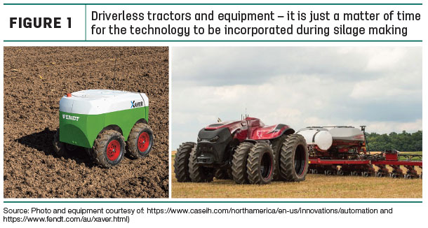 Driverless tractors and equipment