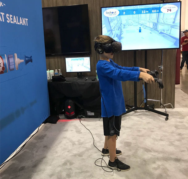 WDE virtual reality game