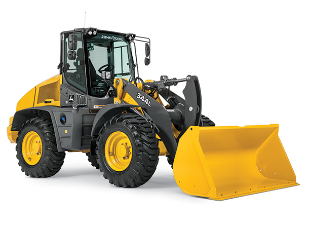 John Deere 344L High-Lift Wheel Loader