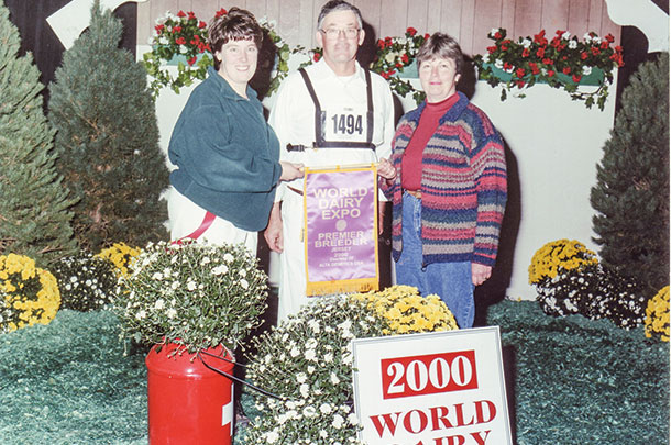 Avonlea Genetics was named Premier Breeder of the 2000 World Dairy Expo Jersey show