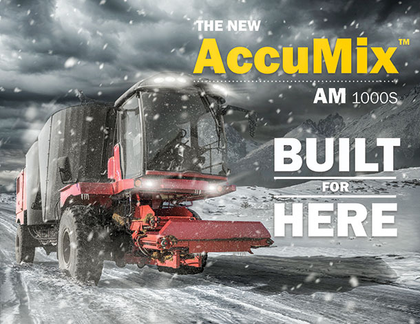 Feed cattle in extreme conditions with Accumix 1000s