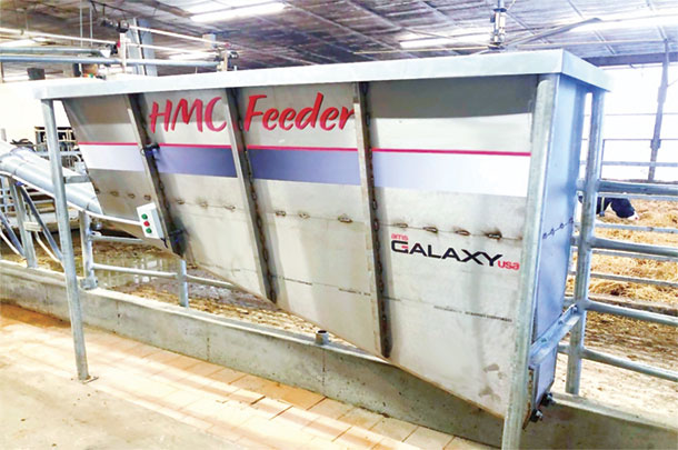 AMS Galaxy USA has engineered an automated auger feeding system
